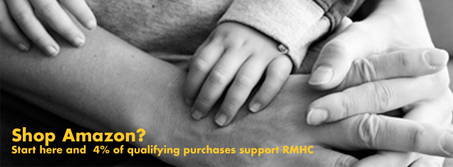 Shop Amazon? Start here and 4% of qualifying purchases support RMHC