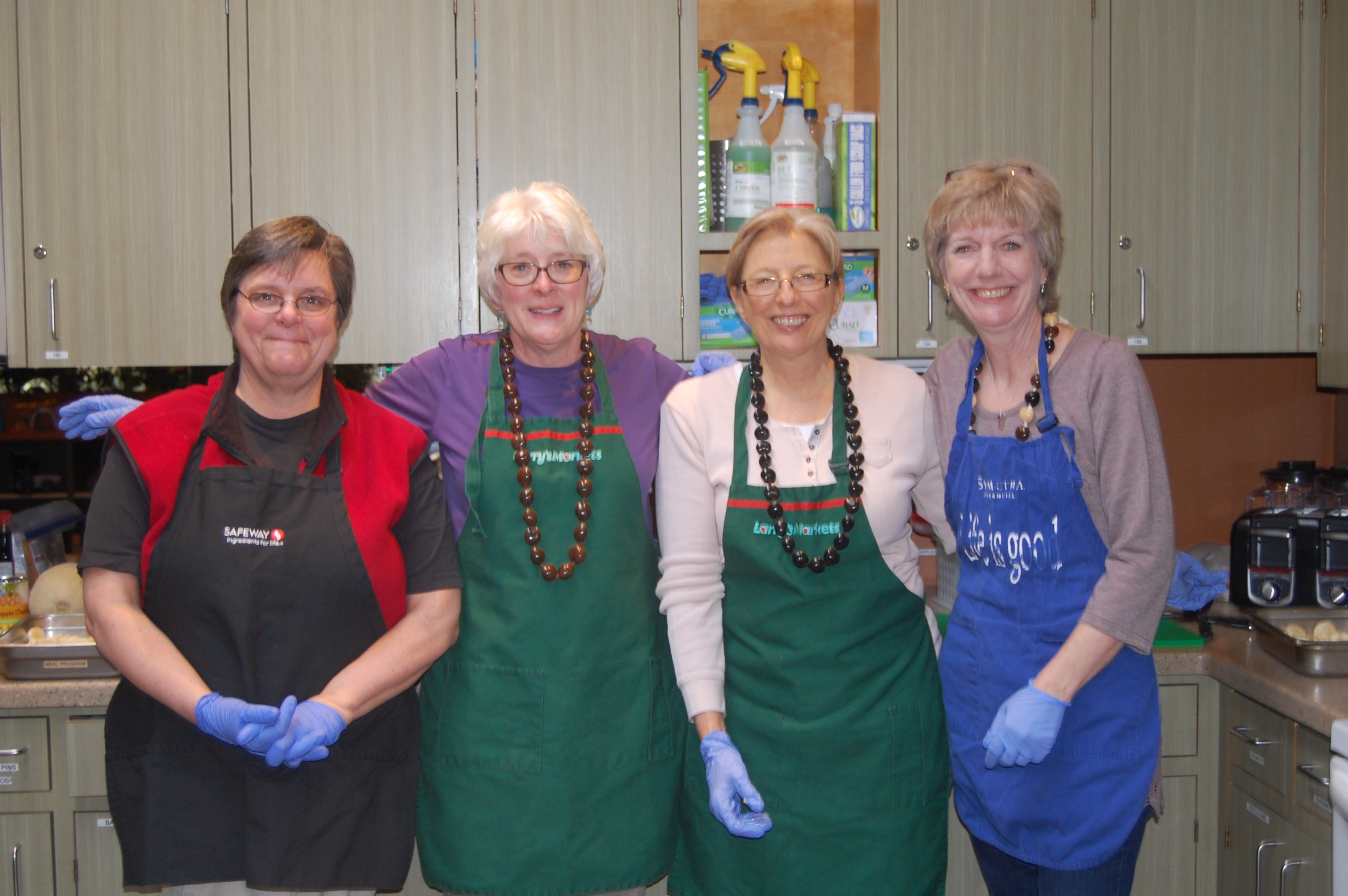 Janet Stocker and the Snohomish Valley Crew