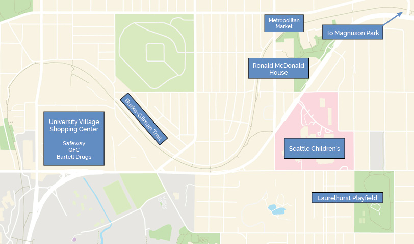 Neighborhood Guide Ronald Mcdonald House Charities Of