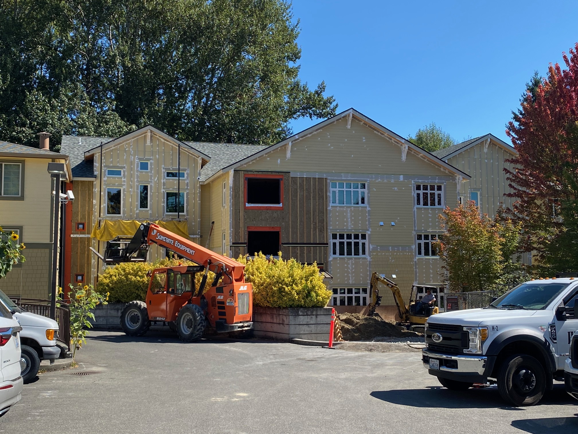 House construction picture